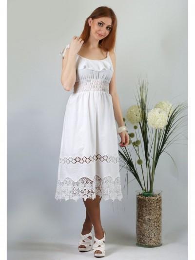 Сарафан мод. 3723 цвет Белый
