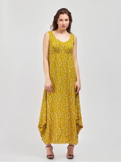 Сарафан мод. 3739 цвет Горчичный