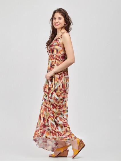 Сарафан мод. 3739 цвет Терракотовый
