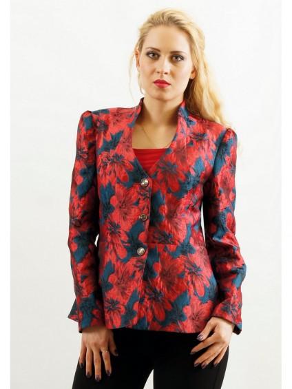 Жакет мод. 3805-1 цвет Красный