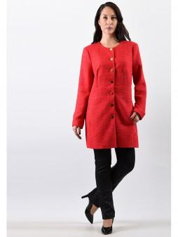 Жакет мод. 3811-1 цвет Красный