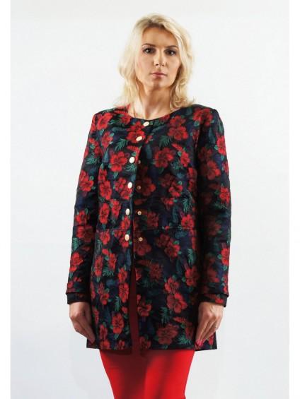 Жакет мод. 3811 цвет Красный
