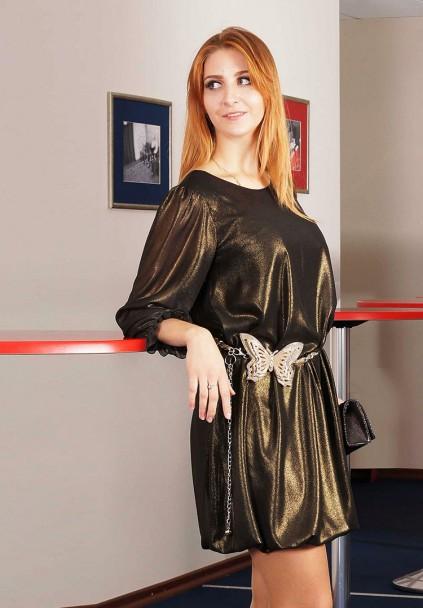 Платье мод. 4503 цвет Черный