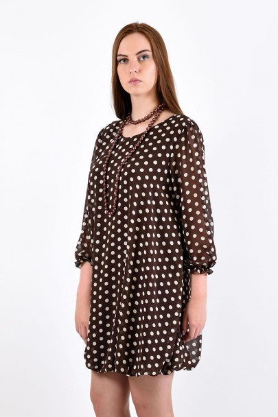 Платье мод. 4503 цвет Шоколад