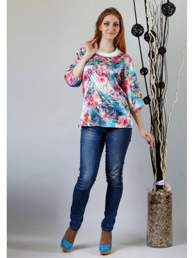 Блуза мод. 4504-1 цвет Бирюзовый