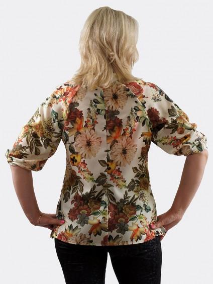 Блуза мод. 4504-1 цвет Молочный
