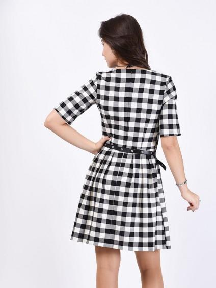 Платье мод. 5404 цвет Черный