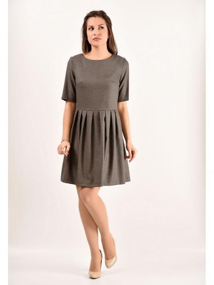 Платье мод. 5404 цвет Горчичный
