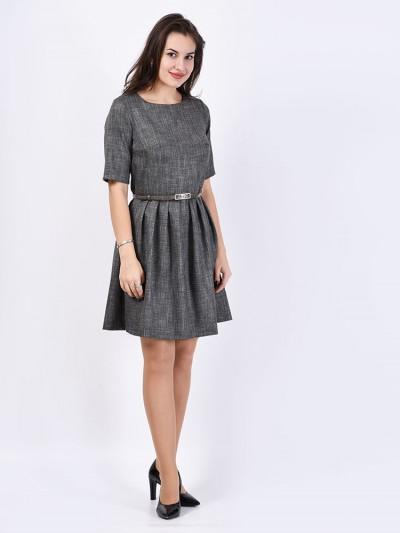 Платье мод. 5404 цвет Серый