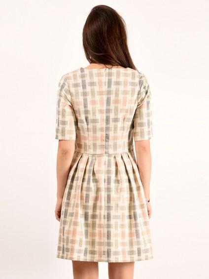 Платье мод. 5404 цвет Молочный