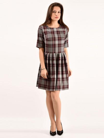 Платье мод. 5404 цвет Красный