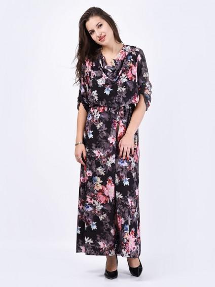 Платье мод. 6401 цвет Черный