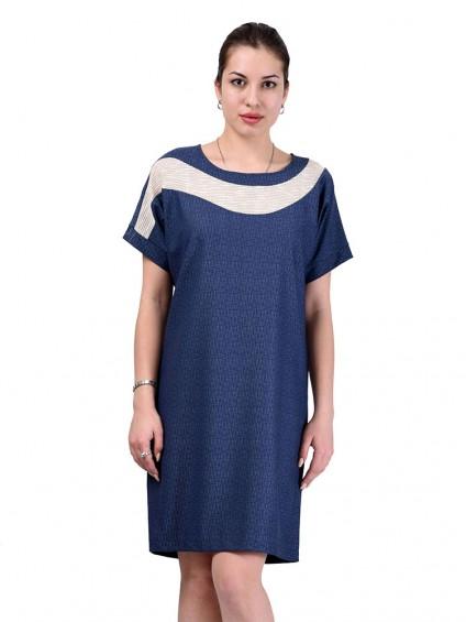 Платье мод. 6403 цвет Синий