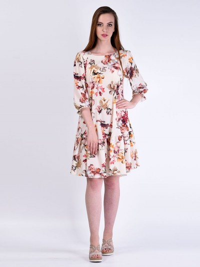 Платье мод. 6405 цвет Молочный