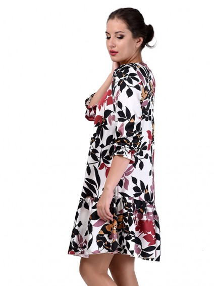 Платье мод. 6405 цвет Белый