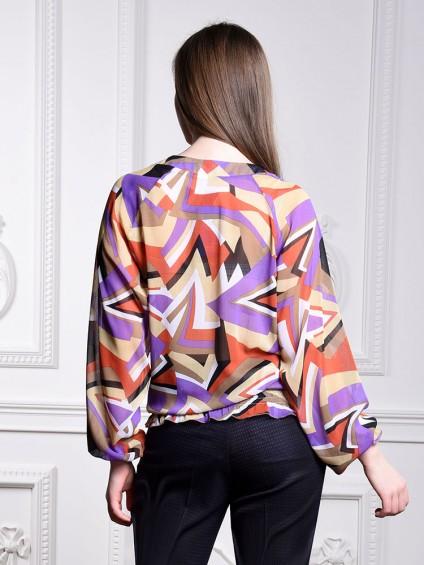Блуза мод. 6501-1 цвет Терракот