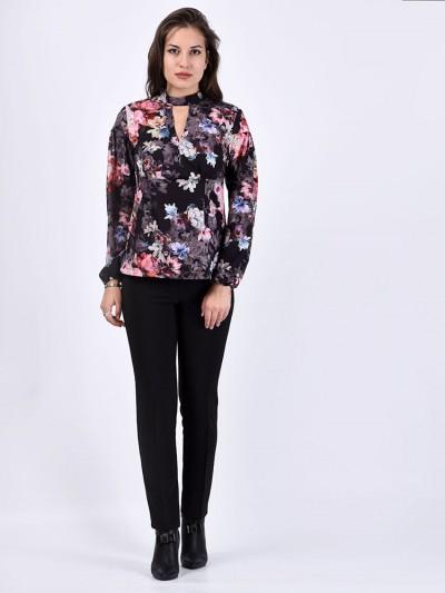Блуза мод. 6507 цвет Черный