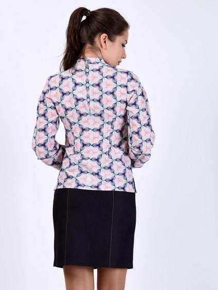 Блуза мод. 6507 цвет Розовый