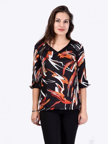 Блуза мод. 6508 цвет Черный