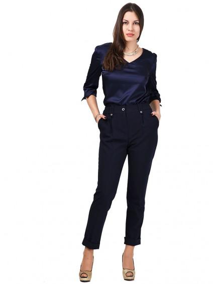 Блуза мод. 6508 цвет Синий