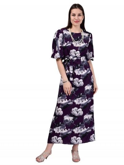 Платье мод. 6510-2 цвет Фиолетовый