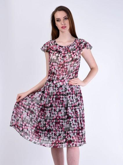 Платье мод. 6701-1 цвет Розовый
