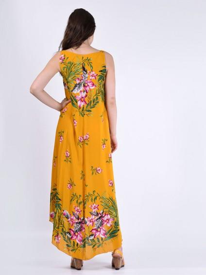 Сарафан мод. 6704 цвет Горчичный