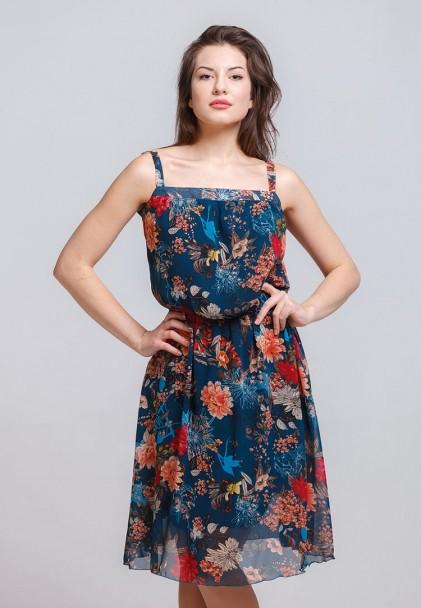 Сарафан мод. 6705 цвет Бирюзовый