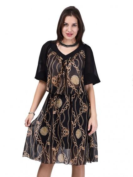 Платье мод. 6706 цвет Черный
